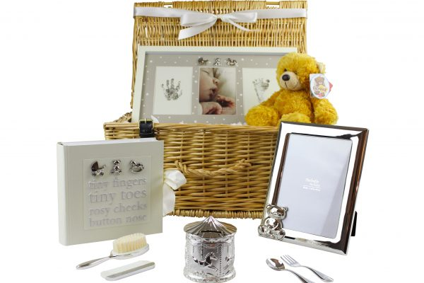 Luxury Baby Gift Hamper : Luxury baby gift hamper handmade hampers
