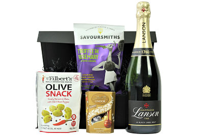 The perfect way to make to make your own bespoke Champagne gift. Choose from our prestigious Award Winning champagnes to accompany your choice of three delicious accompaniments. A magnificent gift to impress.