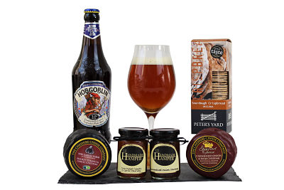 Cheese and Beer Gift
