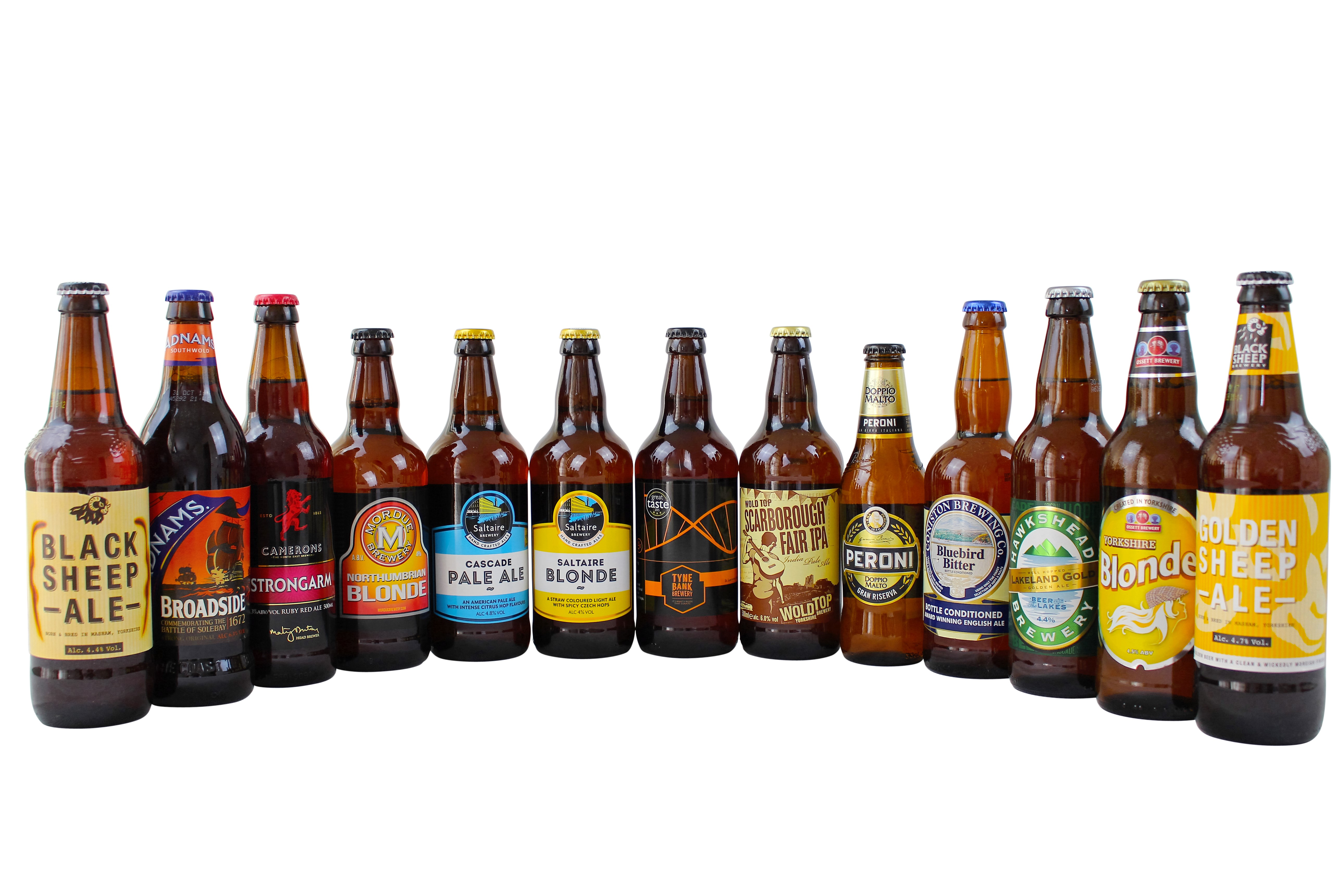 Beer gift hamper that includes real ales too. Choose your beer from our huge selection and match it to some tasty nibbles for the perfect gift.