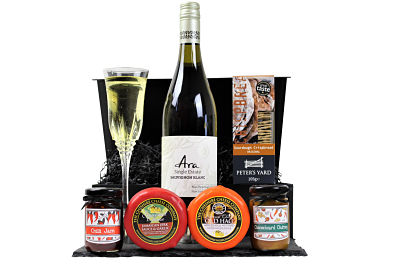 Select your favourite flavour of Award Winning cheese to accompany a delicious crisp wine, crackers, chutney's and create the perfect bespoke gift within the Cheese and White Wine Hamper. Spoil someone special with this delightful gift.