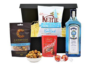 Gin and Nibbles Gift Set
