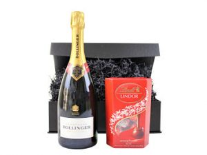 Champagne & Chocolate Gift Box. Choose from a range of award winning chocolate and champagne to create your perfect combination.