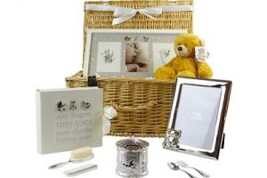 Baby gift hamper, the ideal gift for new parents, grantparents or baby shower gift idea.