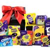 Packed full of delicious Cadbury's chocolate Easter treats, this gift will certainly tantalise your taste buds with the ultimate chocolate hit. Whether your sharing or enjoying The Cadbury's Easter Egg Box as an indulgent Easter treat, this is the perfect chocolate lovers delight.
