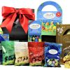 Indulge in the delicious mouthwatering luxury chocolate from the Lindt Chocolatiers range of Easter treats. The Lindt Easter Egg Gift Box is full of sophistication that will delight any chocolate lover and provide the ultimate in chocolate heaven.