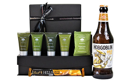 Elegant simplicity, The Botanicals Pamper Gift Set uses only quality ingredients to pamper the body and delight the senses with Eucalyptus and Lemon Myrtle. Using environmentally responsible packaging and no animal-derived ingredients the Basic Earth products are an environmentally sensitive toiletries range. Accompanied with a bar of delicious chocolate and a bottle of your choosing, this is a gift to delight.