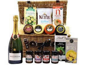 Make The Celebration of Cheese Gift Hamper the perfect bespoke gift for your loved one, friends or colleagues. The ultimate in cheese gifts, select four of your favourite flavours from the Award Winning cheese truckles to accompany our selection of chutney, pickles and tasty cheesy bites. Finish your selection with a bottle of something special and a sweet treat to tantalise your taste buds.