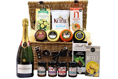 Make The Celebration of Cheese Gift Hamper the perfect bespoke gift for your loved one, friends or colleagues. Choose from the Award Winning cheese truckles to accompany our selection of chutney, pickles and tasty cheesy bites. Finish your selection with a bottle of something special and a sweet treat to tantalise your taste buds.