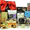 The Cheshire Hamper Box is teaming with a delectable selection of tasty treats and has something to tempt the whole family. Jazz up your breakfast with the Mrs Darlington's strawberry jam, or savour a tea time treat with the Williamson's tea and Starbucks ground coffee. A perfect accompaniment to the Rendles chocolate chip cake, Farmhouse lemon biscuits and much more.