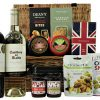 Create your own luxury party feast within the Cheese and Wine Party Basket by selecting all your favourite flavours from our Award Winning delicious delights. Cheshire Cheese Co cheese truckles, Verduijn's gourmet crackers, flavoursome chutney's, Deans cheesy bites, Mr Filberts olives and really interesting nuts and not forgetting the House of Dorchester luxury chocolates. Pair these delectable goodies with your preferred bottles of fine wine making this a truly special and personal gift for any discerning foodie lover.