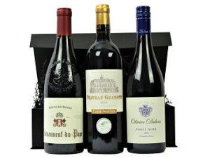 If you're looking for a gift for a red wine lover then look no further, the magnificent threesome within the Red Wine Trio Gift Box will prove irresistible for anyone who loves red wine. We have selected our most popular Award Winning reds and presented them within a stylish black lidded box.