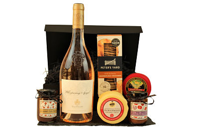 Taylor the tastes within The Cheese and Rose Wine Gift Box to create an exceptional gift of your own creation. From our superb Award Winning ranges, choose your favourite Cheshire Cheese Co. cheese truckle, flavoursome chutney's and decadent Rose wine to make the perfect gift. A luxurious treat to delight for any occasion.